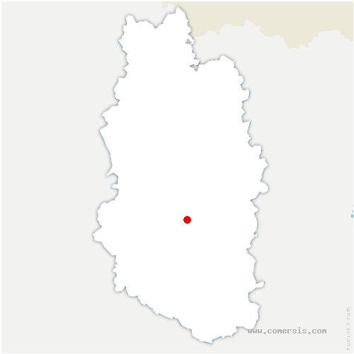 carte de localisation de Kœur-la-Petite