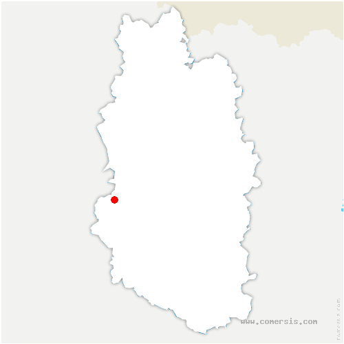 carte de localisation de Laheycourt