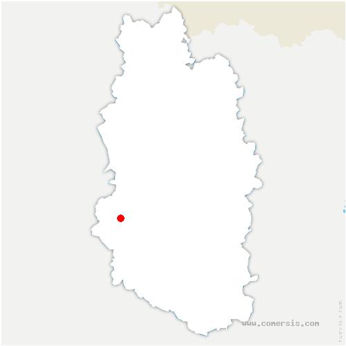 carte de localisation de Laimont