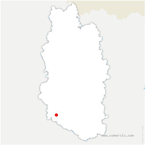 carte de localisation de Lavincourt