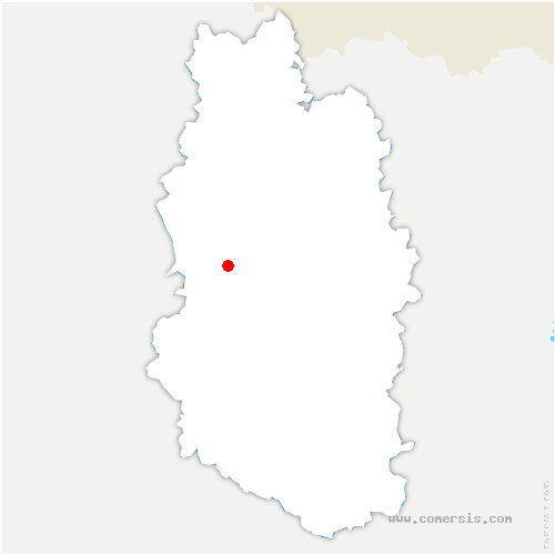 carte de localisation de Lavoye