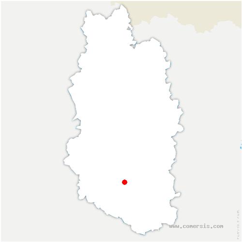 carte de localisation de Ligny-en-Barrois