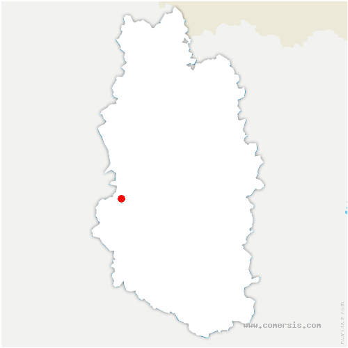 carte de localisation de Lisle-en-Barrois