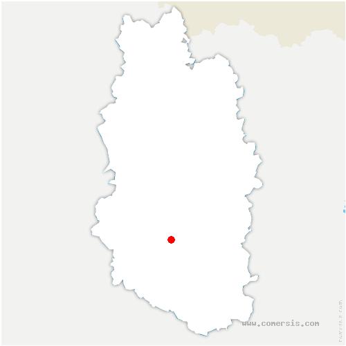 carte de localisation de Loisey