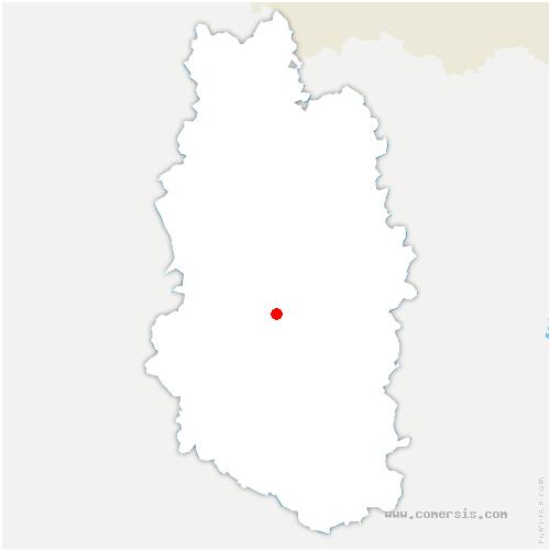carte de localisation de Longchamps-sur-Aire