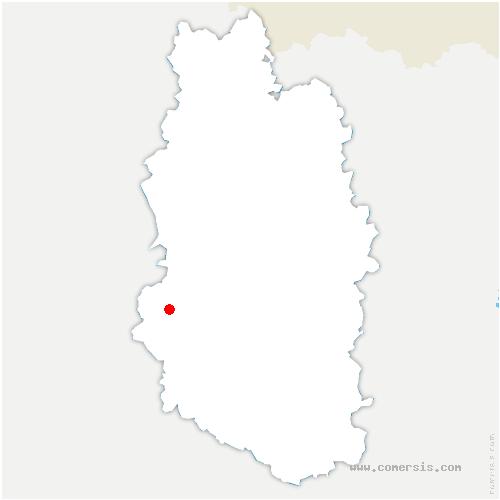 carte de localisation de Louppy-le-Château
