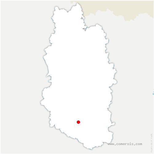 carte de localisation de Menaucourt
