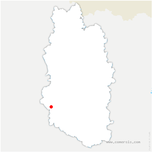 carte de localisation de Mognéville