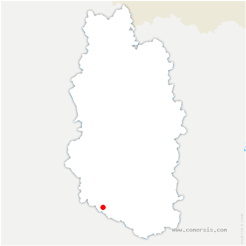 carte de localisation de Morley