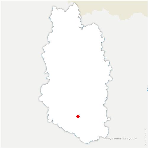 carte de localisation de Naix-aux-Forges