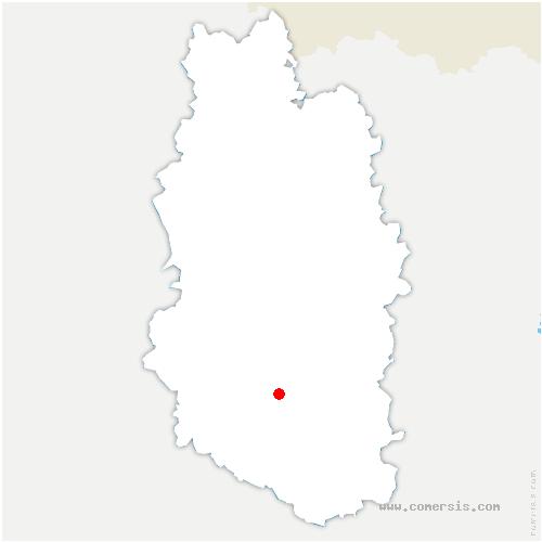 carte de localisation de Nançois-le-Grand