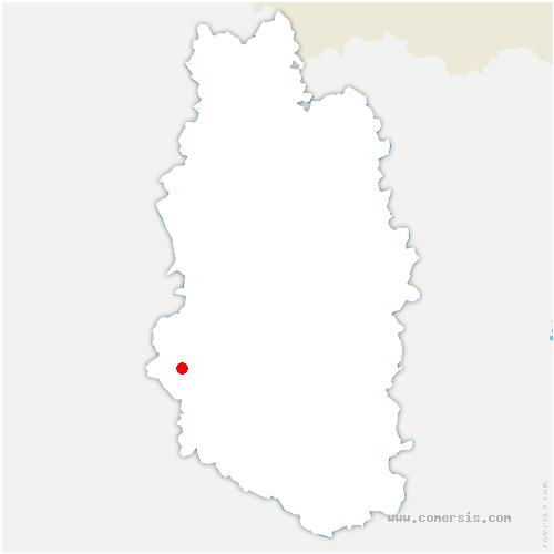 carte de localisation de Neuville-sur-Ornain