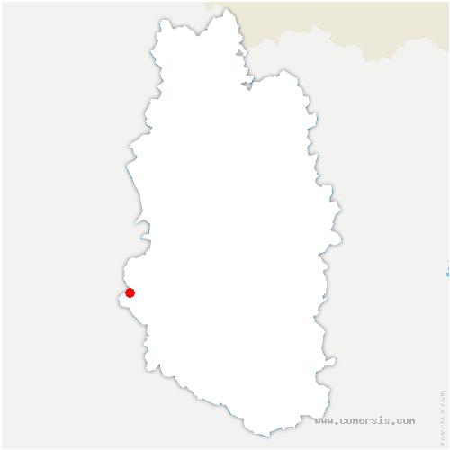 carte de localisation de Rancourt-sur-Ornain