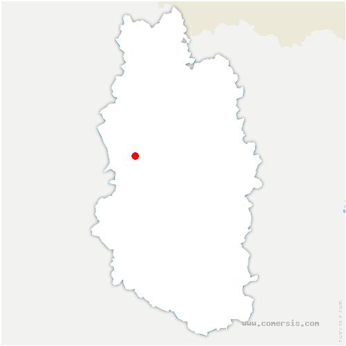 carte de localisation de Rarécourt