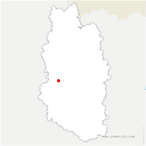 carte de localisation de Rembercourt-Sommaisne