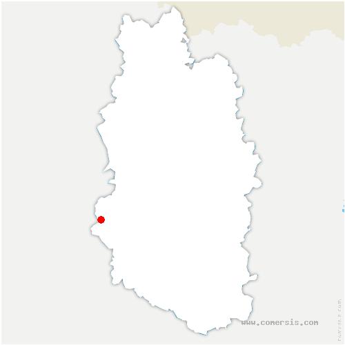 carte de localisation de Revigny-sur-Ornain