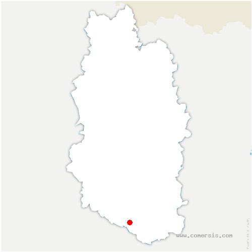 carte de localisation de Ribeaucourt
