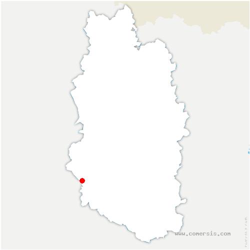 carte de localisation de Robert-Espagne