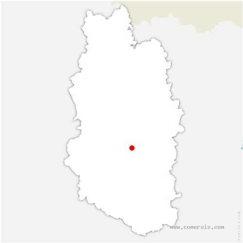 carte de localisation de Rupt-devant-Saint-Mihiel