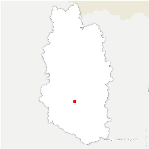 carte de localisation de Salmagne