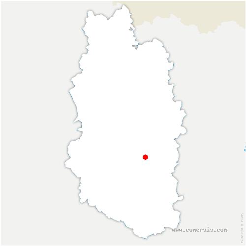 carte de localisation de Sampigny