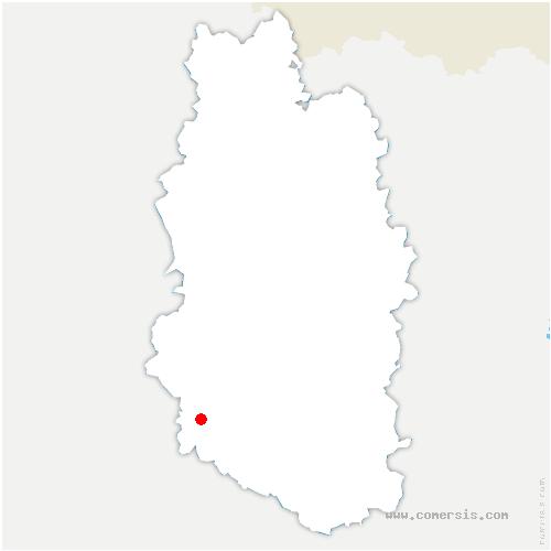 carte de localisation de Saudrupt