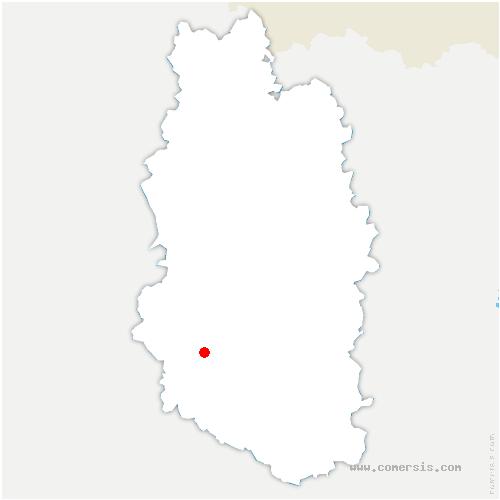 carte de localisation de Savonnières-devant-Bar