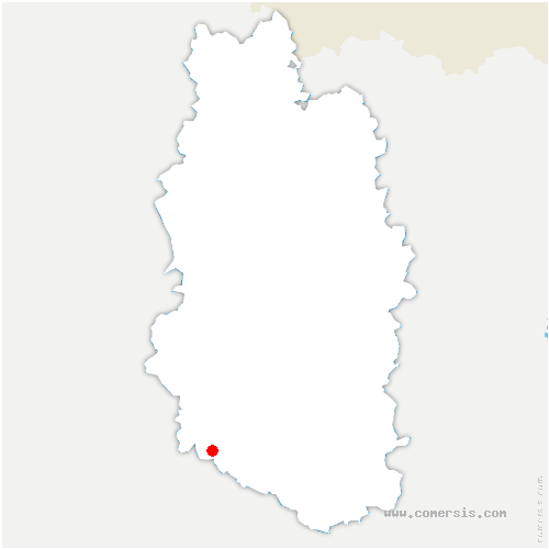 carte de localisation de Savonnières-en-Perthois