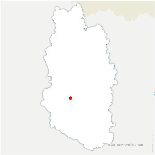 carte de localisation de Seigneulles