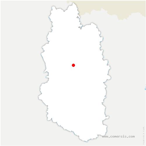 carte de localisation de Senoncourt-les-Maujouy