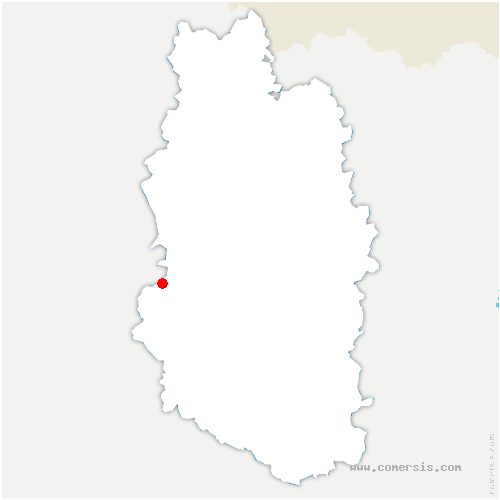 carte de localisation de Sommeilles