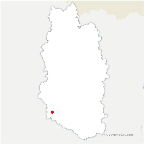 carte de localisation de Sommelonne