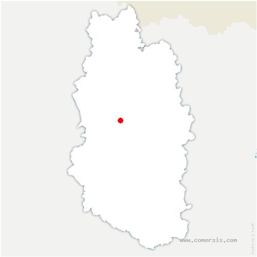 carte de localisation de Souilly