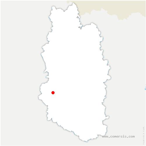 carte de localisation de Val-d'Ornain