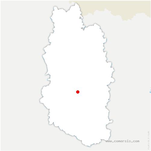 carte de localisation de Ville-devant-Belrain