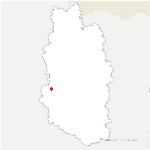 carte de localisation de Villotte-devant-Louppy