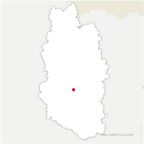 carte de localisation de Villotte-sur-Aire