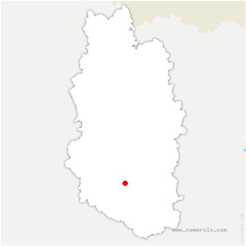 carte de localisation de Willeroncourt