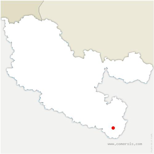 carte de localisation de Abreschviller