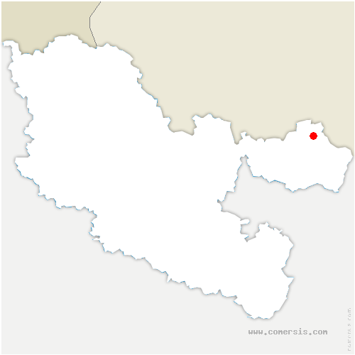 carte de localisation de Breidenbach