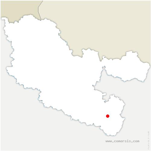 carte de localisation de Brouderdorff