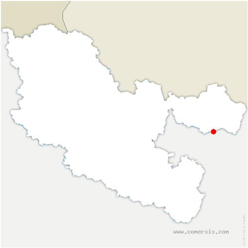 carte de localisation de Goetzenbruck