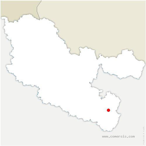 carte de localisation de Guntzviller