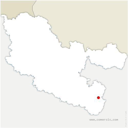 carte de localisation de Haselbourg