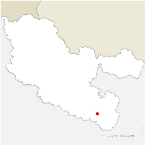 carte de localisation de Hermelange