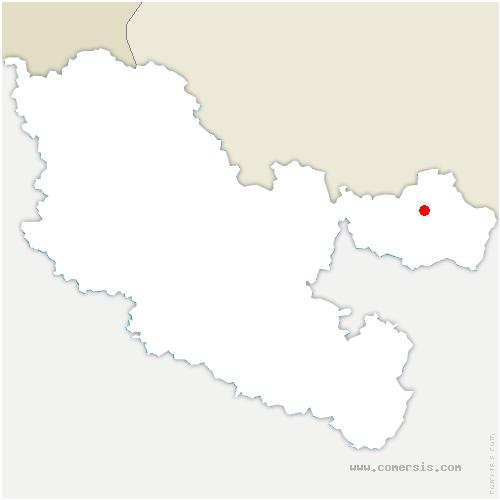 carte de localisation de Hottviller