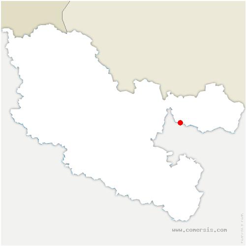 carte de localisation de Kalhausen