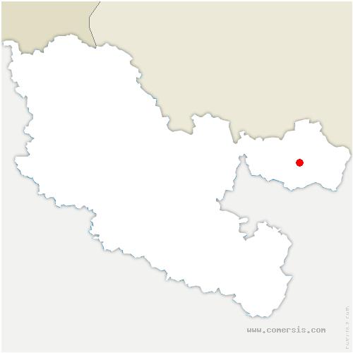 carte de localisation de Lambach