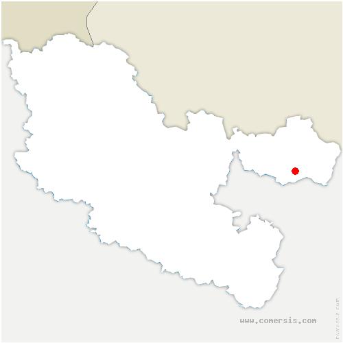 carte de localisation de Lemberg
