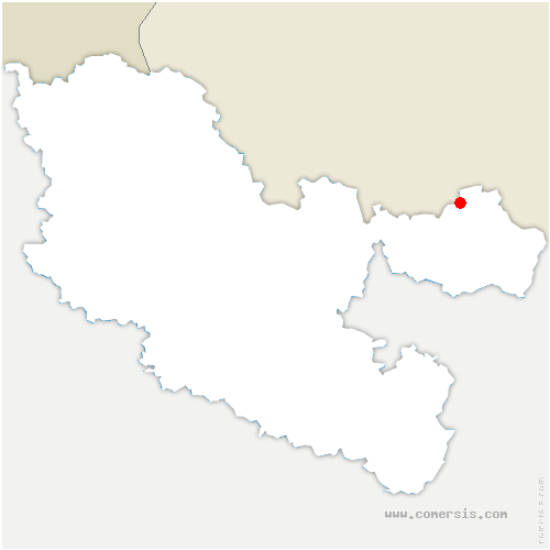 carte de localisation de Loutzviller
